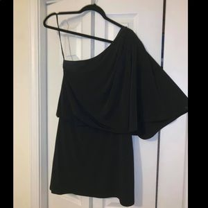 Jessica Simpson one shoulder dress.